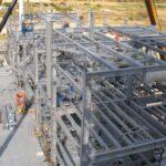 Dow Chemical, Progettazione esecutiva, fornitura e posa in opera di strutture metalliche zincate a caldo per edificio industr